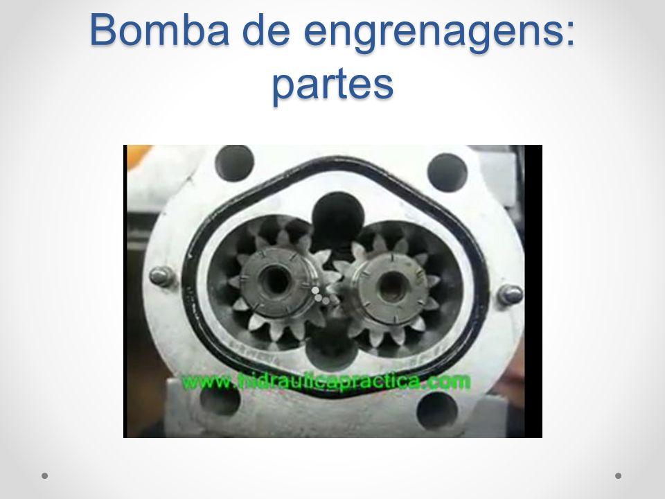 Bomba de engrenagens: partes