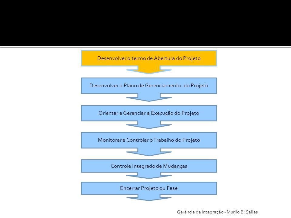Trata-se de um documento que serve como elo de ligação entre as operações rotineiras da organização empreendedora do projeto e a aprovação do início das atividades do projeto.