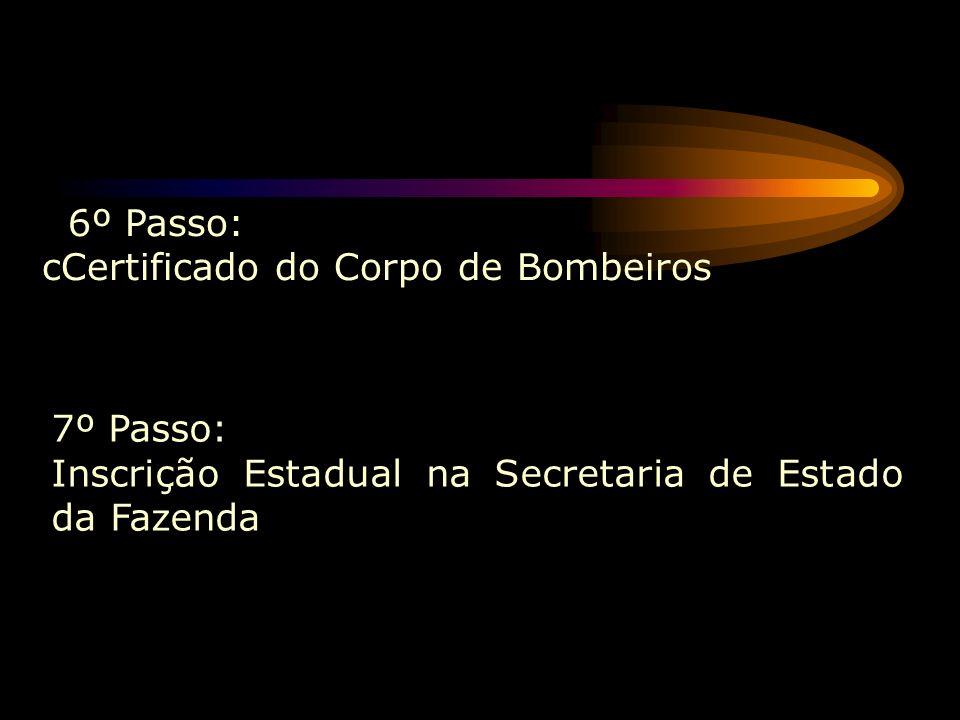 3 Passo: Registro na Junta Comercial 4º Passo: Publicação no Diário Oficial 5º Passo: Ministério da Fazenda/Secretaria da Receita Federal