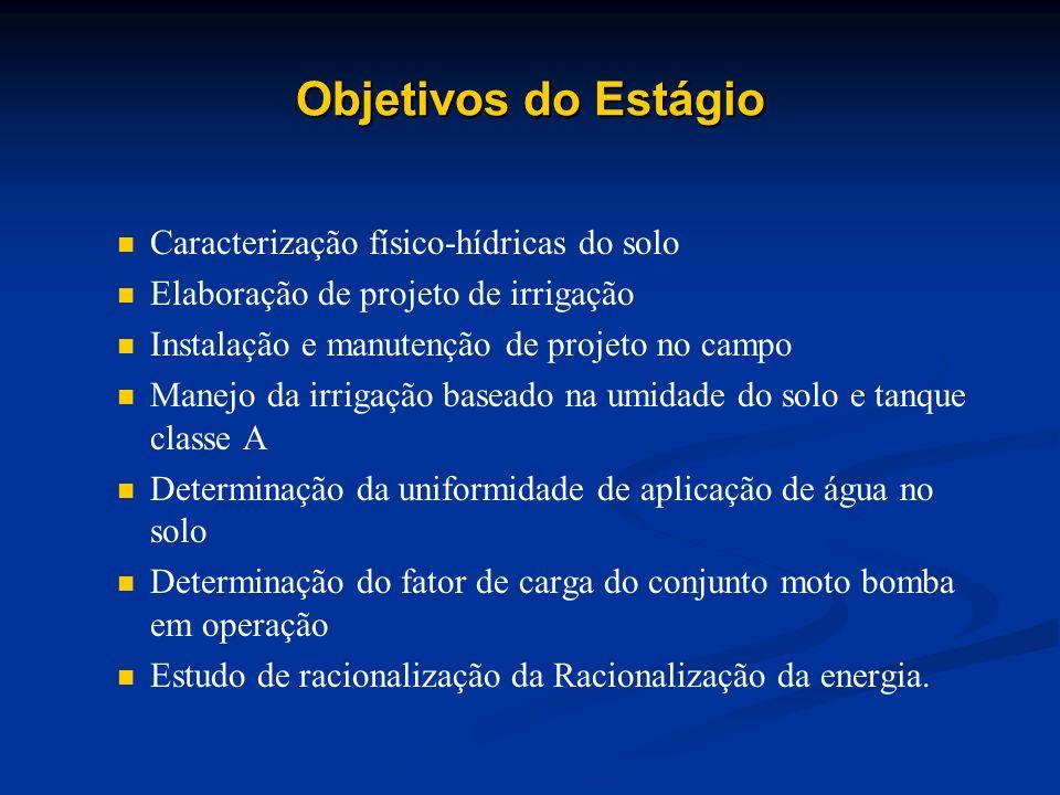 Empresa Concedente O estágio foi realizado no campo experimental Fazendazinha agroecológica da (EMBRAPA, Agribiologia) Empresa Brasileira de Pesquisa Agropecuária.