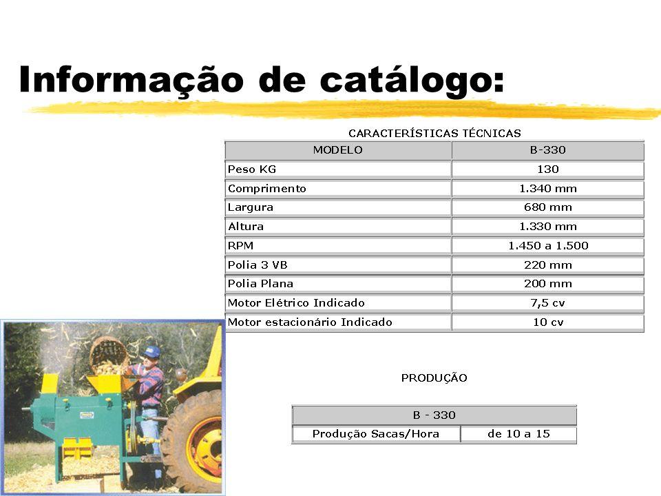 Informação de catálogo: