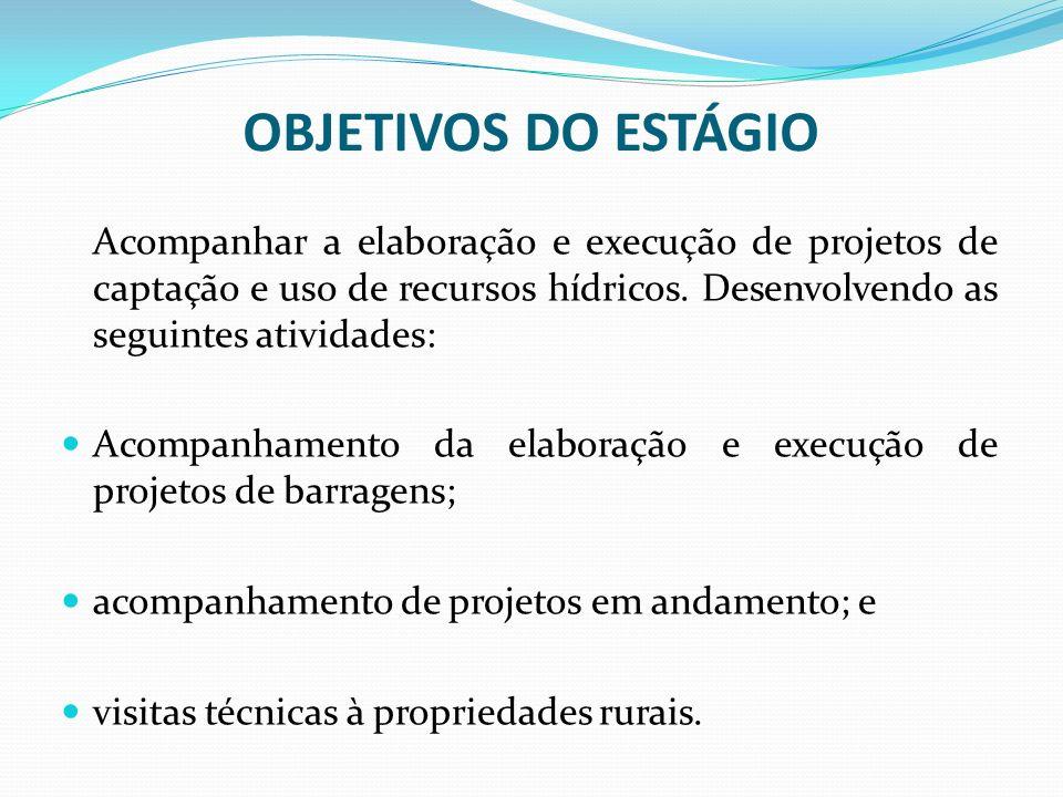 LARGURA DA CRISTA: A largura do topo da barragem, mais conhecida como largura da crista, está condicionada à estabilidade e altura da barragem, à permeabilidade do aterro e ao tipo de trânsito a que se destina.