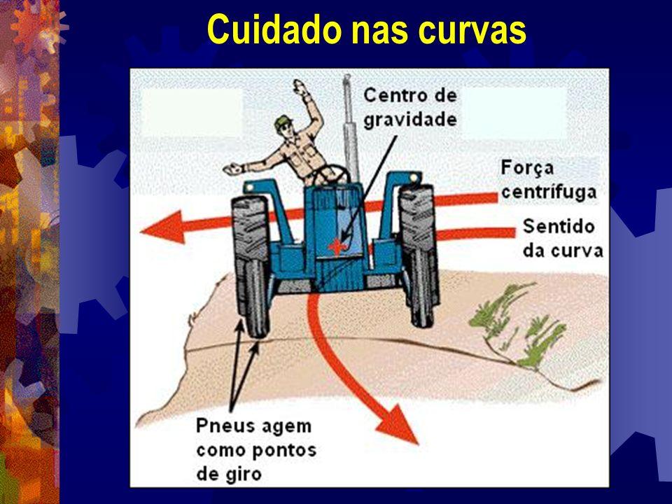 Cuidado nas curvas