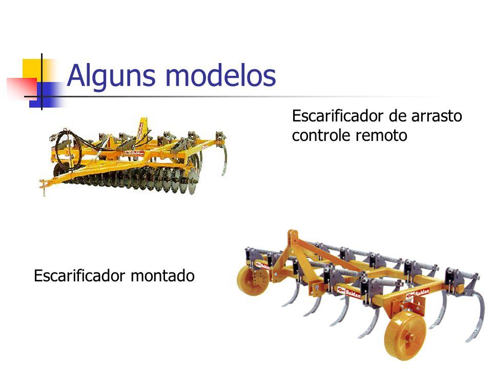 Alguns modelos Escarificador de arrasto controle remoto Escarificador montado