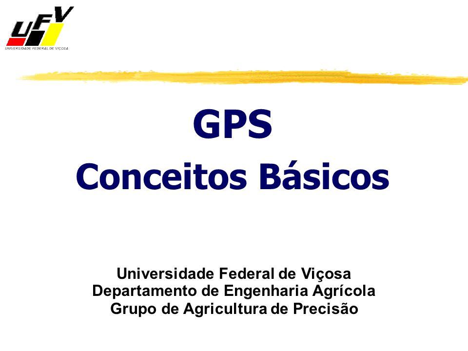GPS Conceitos Básicos Universidade Federal de Viçosa Departamento de Engenharia Agrícola Grupo de Agricultura de Precisão