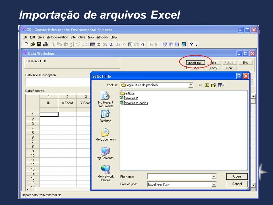 Visualizar arquivo importado