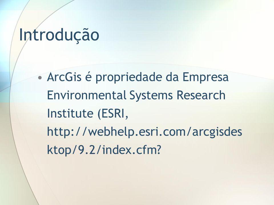 Projeto (Project) Camadas (Layers) Tabelas (Tables) Gráficos (Charts) Esquemas (Layouts) e Rotinas (Scripts)
