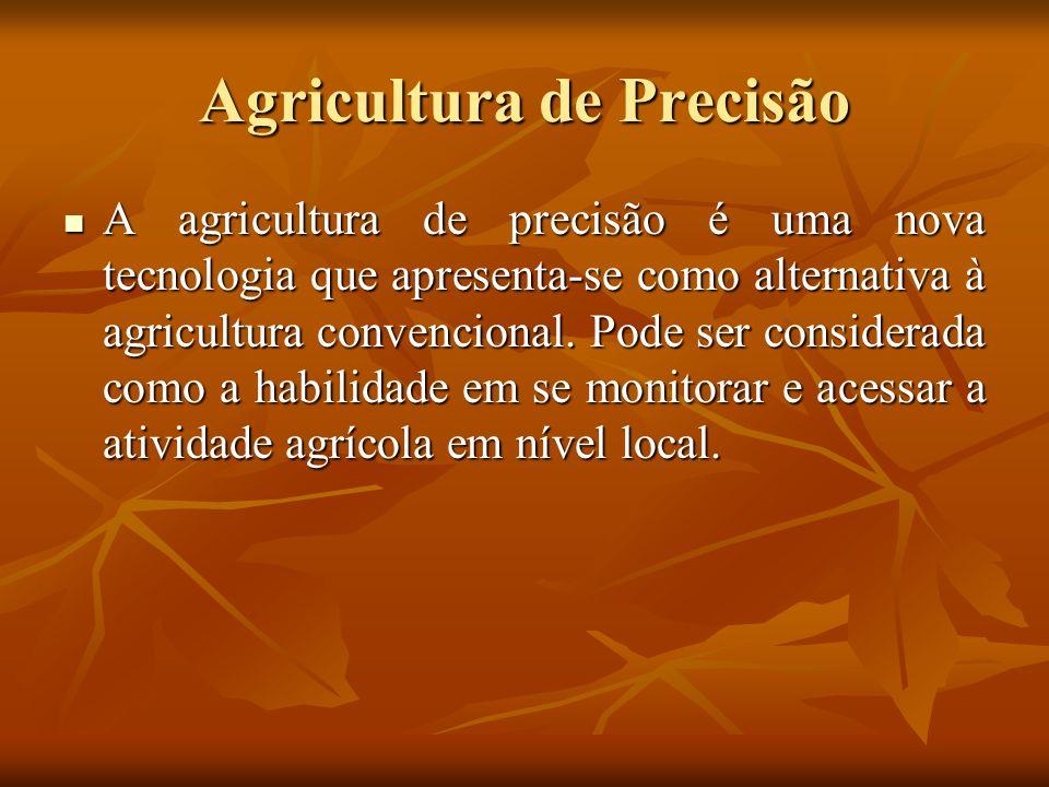 Conceitos básicos em AP Variabilidade espacial Variabilidade espacial Informações georreferenciadas Informações georreferenciadas Grade de amostragem Grade de amostragem DGPS na agricultura de precisão DGPS na agricultura de precisão