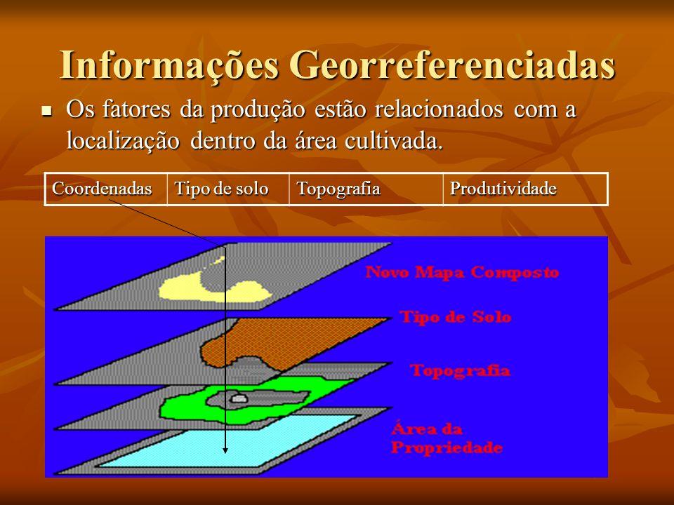 Grade de Amostragem Dimensões das subdivisões homogêneas.