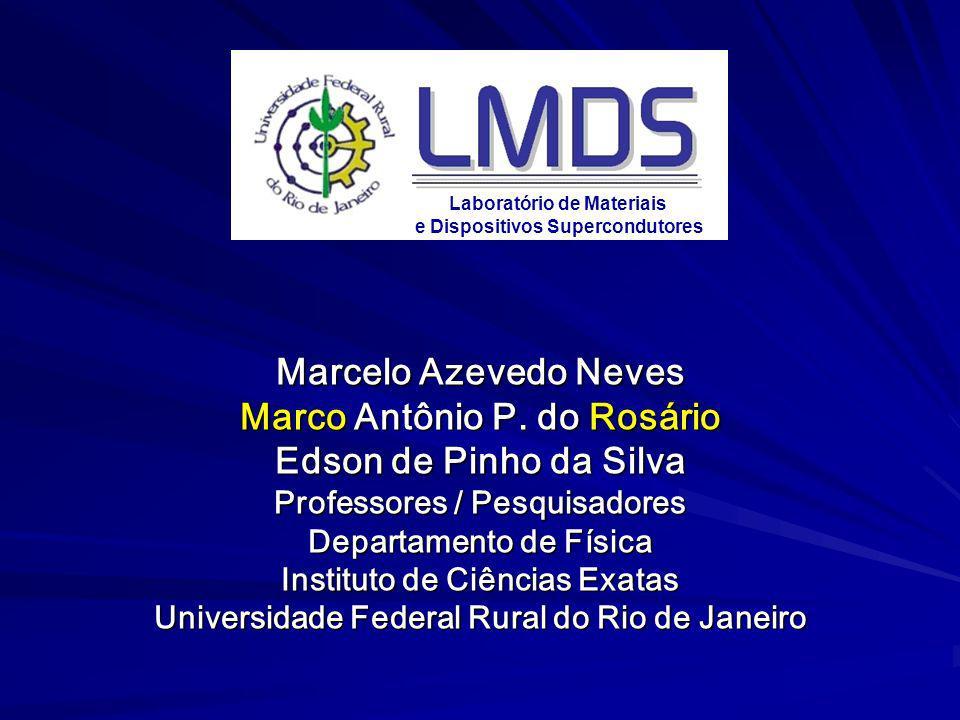 Marcelo Azevedo Neves Marco Antônio P. do Rosário Edson de Pinho da Silva Professores / Pesquisadores Departamento de Física Instituto de Ciências Exa