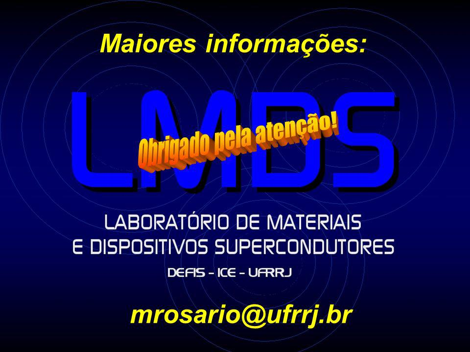 Maiores informações: mrosario@ufrrj.br