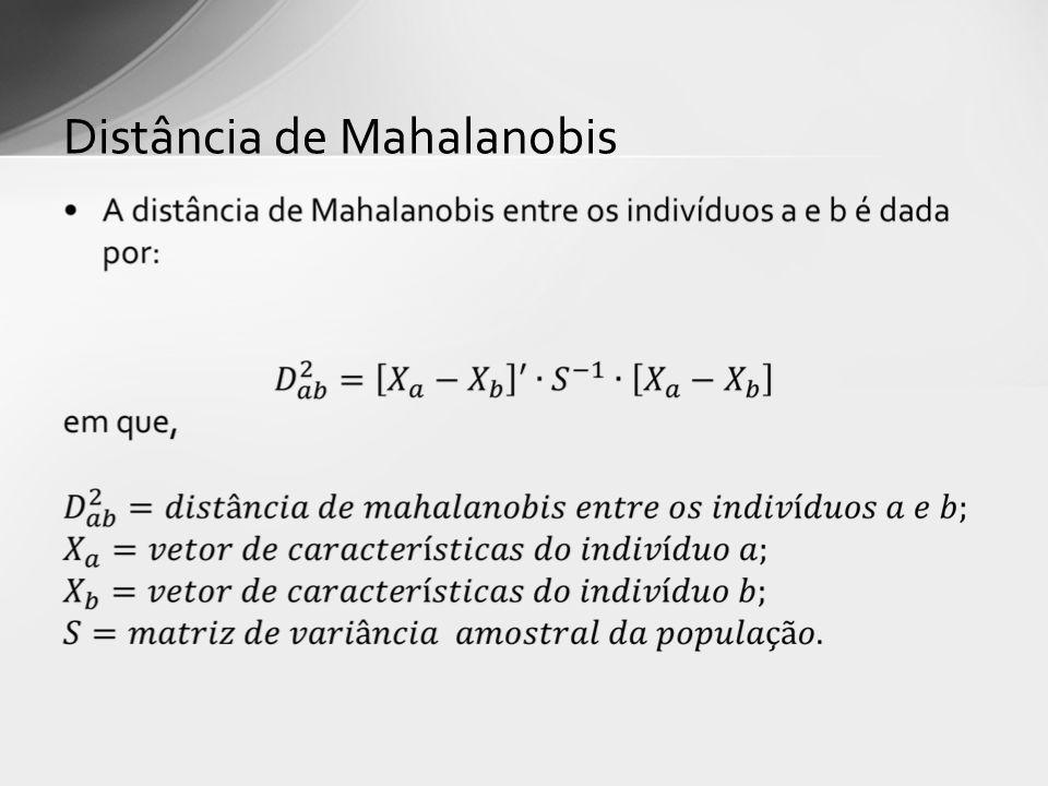 Distância de Mahalanobis