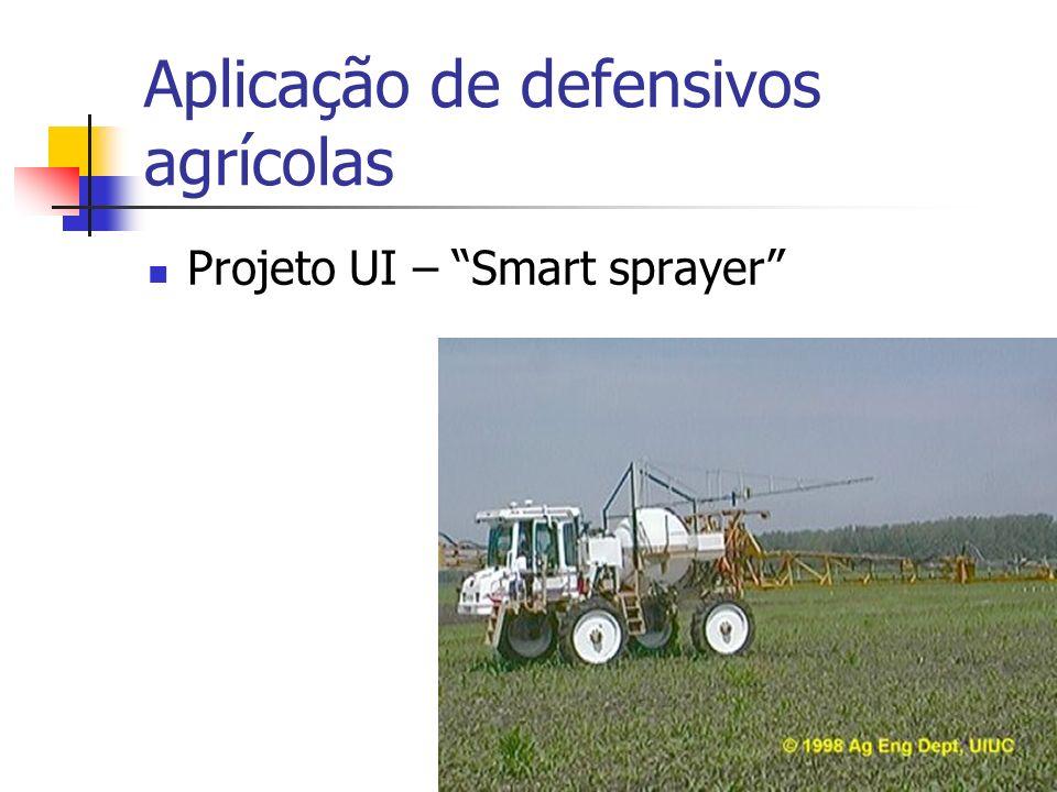 Aplicação de defensivos agrícolas Projeto UI – Smart sprayer