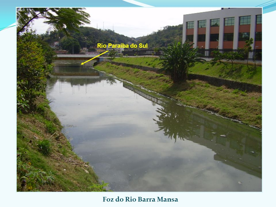 Foz do Rio Barra Mansa Rio Paraíba do Sul