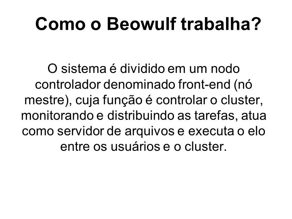 Como o Beowulf trabalha.