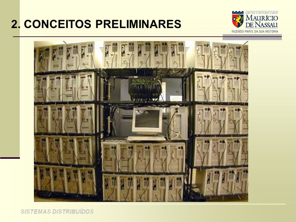 ANÁLISE DE PROJETO DE SISTEMAS ORIENTADOS A OBJETO SISTEMAS DISTRIBUÍDOS 8.