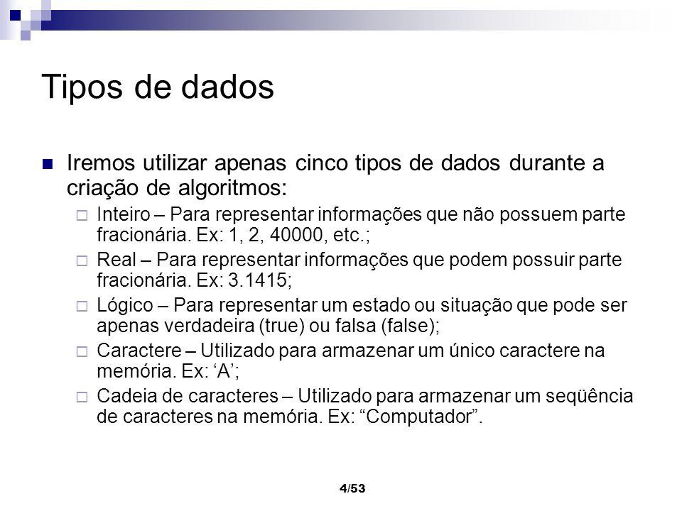 Construção de Algoritmos 1 Programação em Java Prof. Maurício Braga
