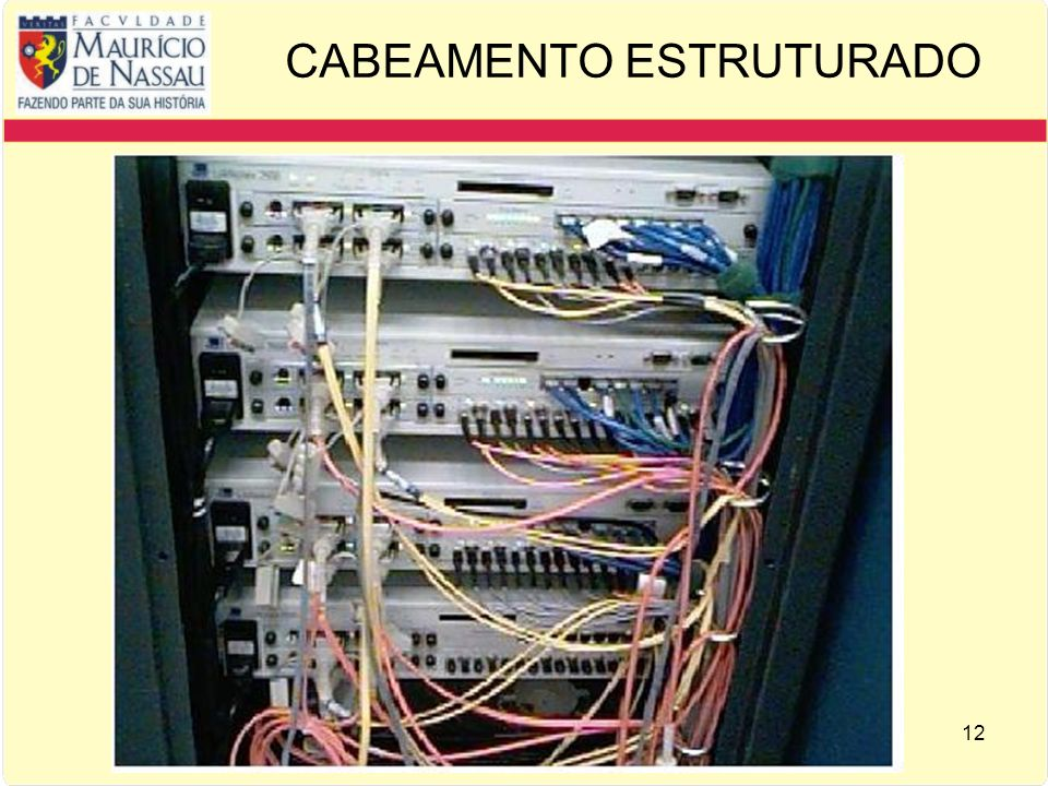 12 CABEAMENTO ESTRUTURADO
