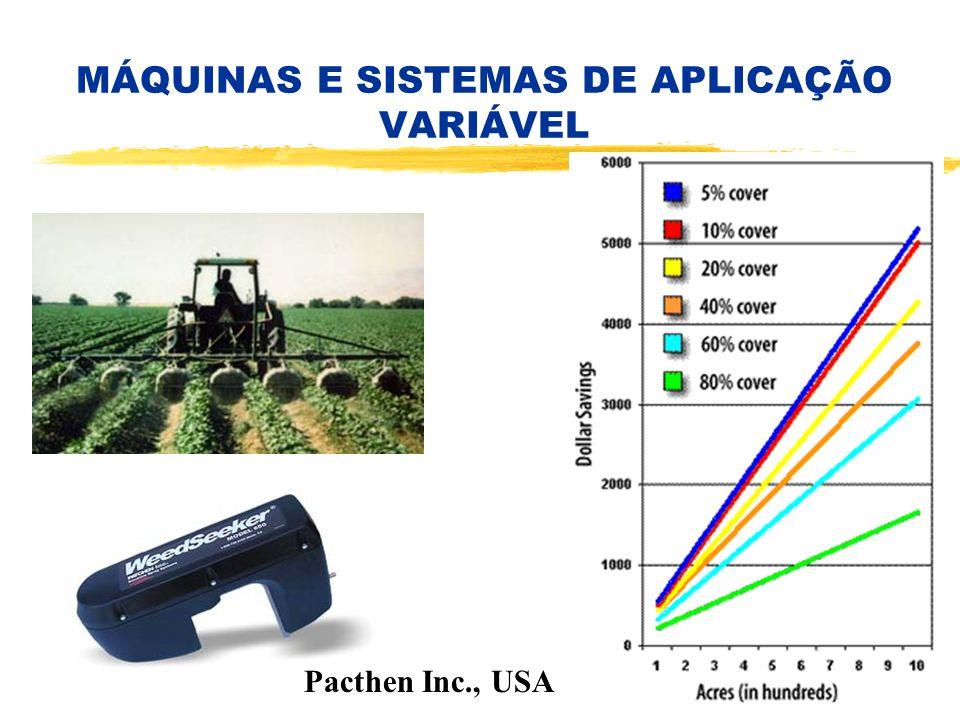 MÁQUINAS E SISTEMAS DE APLICAÇÃO VARIÁVEL Pacthen Inc., USA