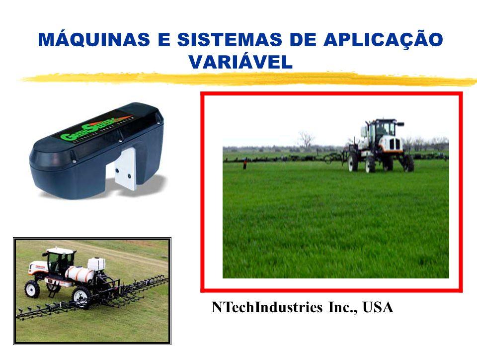 MÁQUINAS E SISTEMAS DE APLICAÇÃO VARIÁVEL NTechIndustries Inc., USA