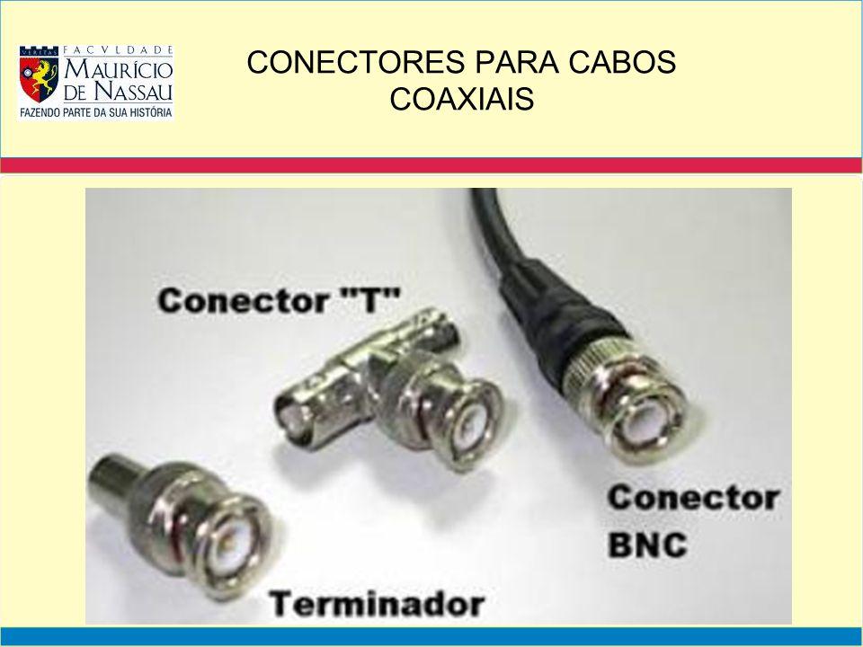CONECTORES PARA CABOS COAXIAIS