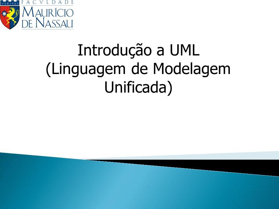 Introdução a UML (Linguagem de Modelagem Unificada)