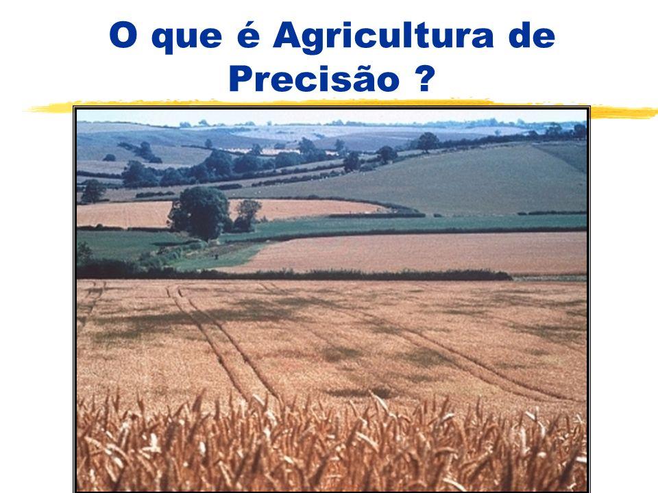 O que é Agricultura de Precisão ? Uma nova forma de administrar o sistema de produção agrícola Colocando em prática um velho conhecimento e sonho A va
