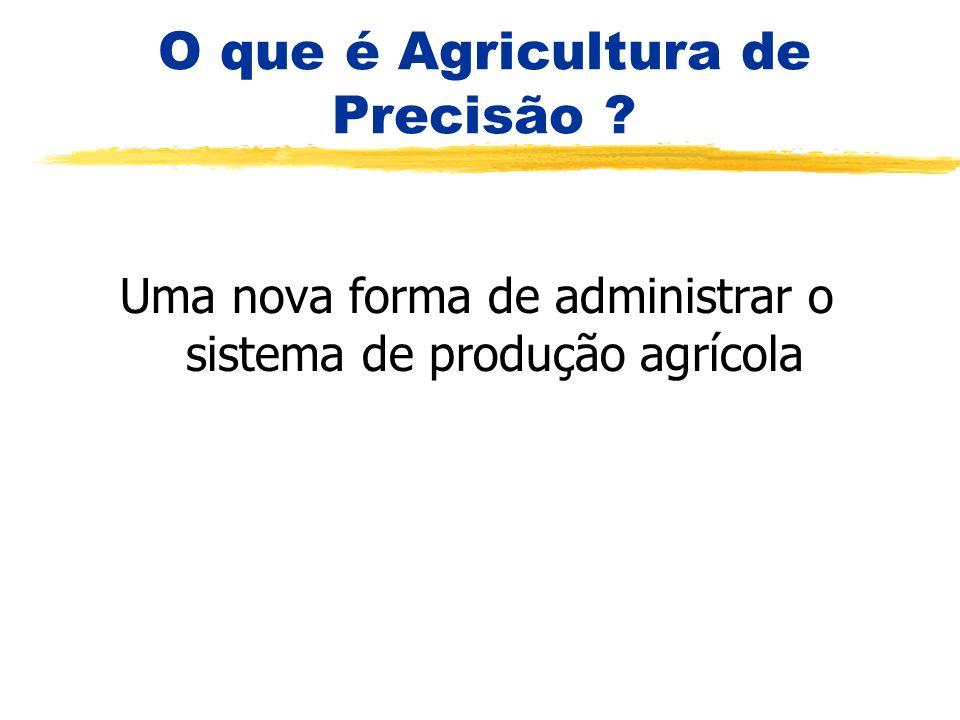 O que é Agricultura de Precisão ? Uma nova forma de administrar o sistema de produção agrícola