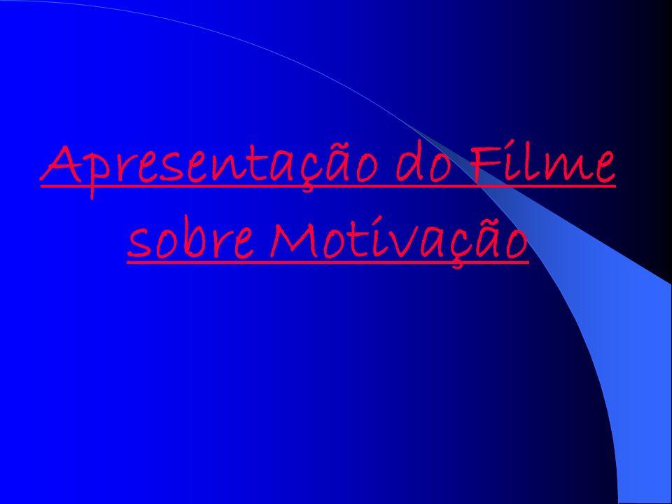 Apresentação do Filme sobre Motivação