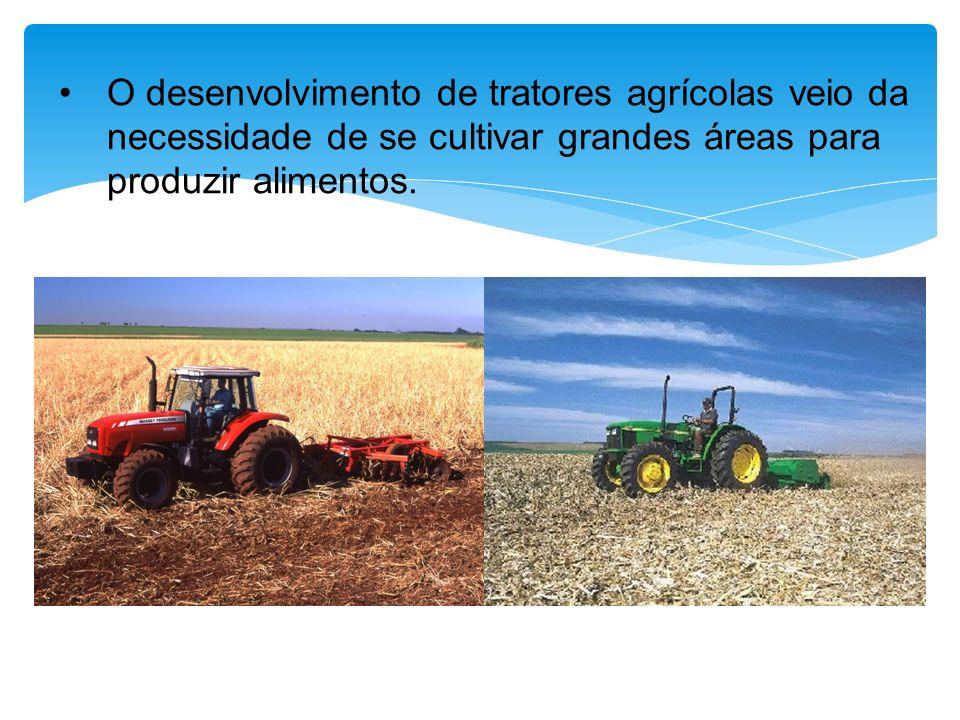 O trator teve importante papel no desenvolvimento da mecanização agrícola; Homem menos que 0,1 kw de potência em trabalho contínuo; Antes do trator a fonte de potência era Humana ou Animal Potência HomemAnimalTrator