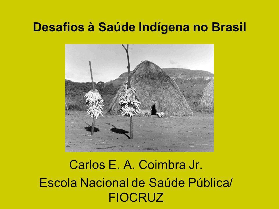 Desafios à Saúde Indígena no Brasil Carlos E. A. Coimbra Jr. Escola Nacional de Saúde Pública/ FIOCRUZ