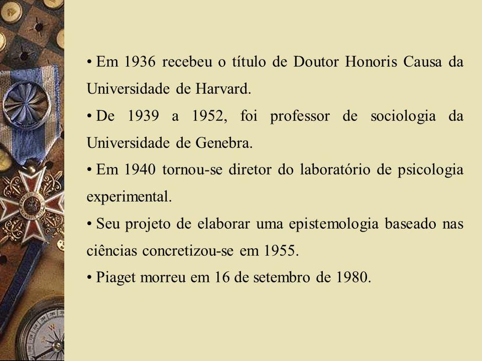 Em 1936 recebeu o título de Doutor Honoris Causa da Universidade de Harvard. De 1939 a 1952, foi professor de sociologia da Universidade de Genebra. E