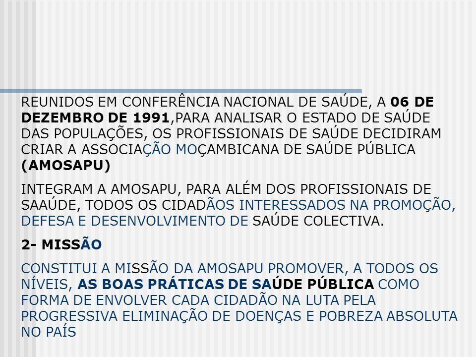 REUNIDOS EM CONFERÊNCIA NACIONAL DE SAÚDE, A 06 DE DEZEMBRO DE 1991,PARA ANALISAR O ESTADO DE SAÚDE DAS POPULAÇÕES, OS PROFISSIONAIS DE SAÚDE DECIDIRA