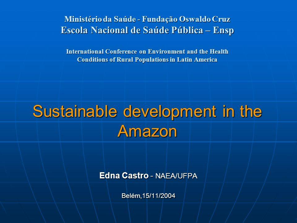 Ministério da Saúde - Fundação Oswaldo Cruz Escola Nacional de Saúde Pública – Ensp International Conference on Environment and the Health Conditions