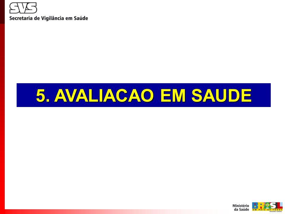 5. AVALIACAO EM SAUDE