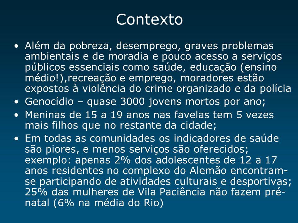 Inequidades na Mortalidade Infantil Londres e Rio 3.4 8.6 4,6 43.6 RIO LONDON UNDP – IPEA 1998