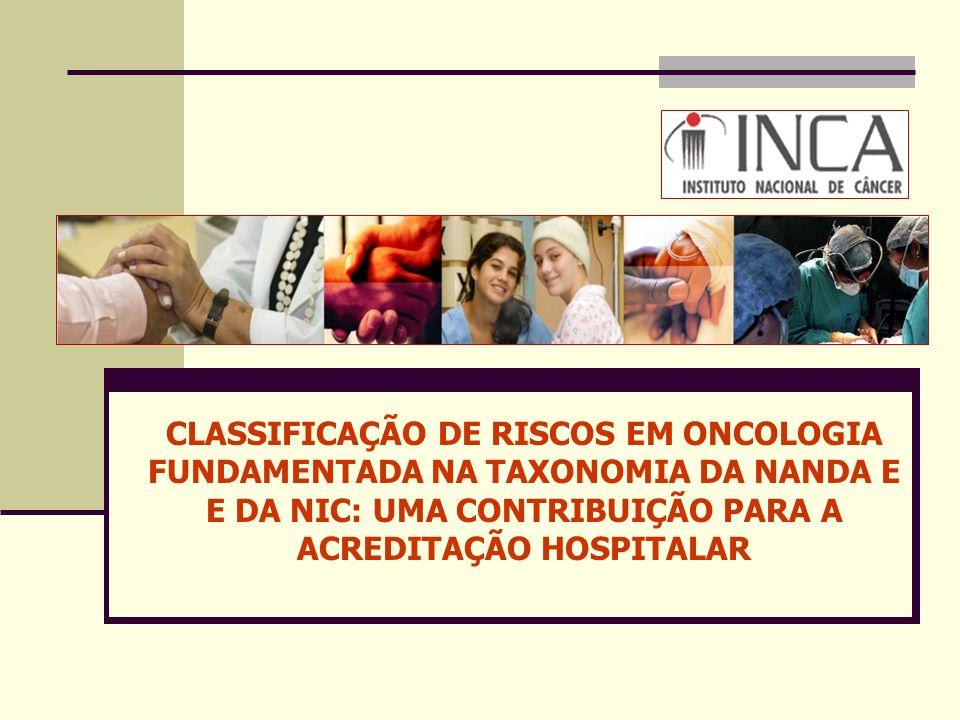 ACREDITAÇÃO HOSPITALAR PADRÃO: CUIDADOS AOS PACIENTES COP 3: Cuidado aos Pacientes de Alto Risco e Disponibilização de Serviços de Alto Risco Elementos de Mensuração: Os líderes da instituição identificaram os pacientes e serviços de alto risco.