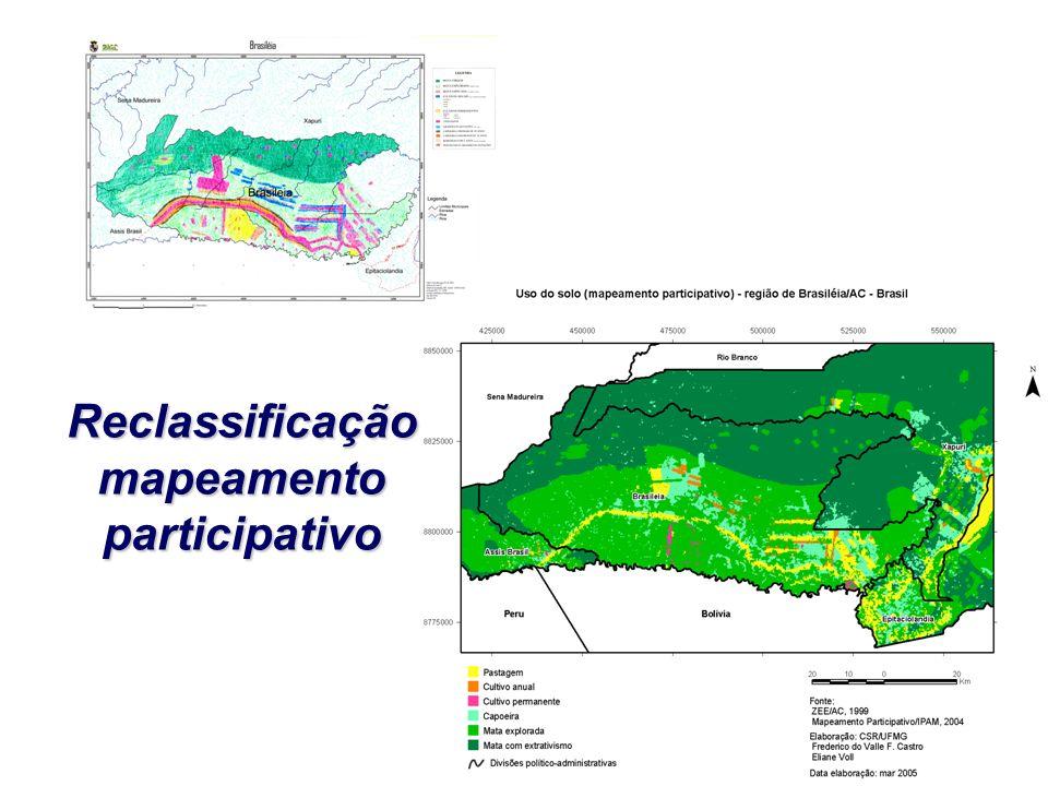 Reclassificação mapeamento participativo