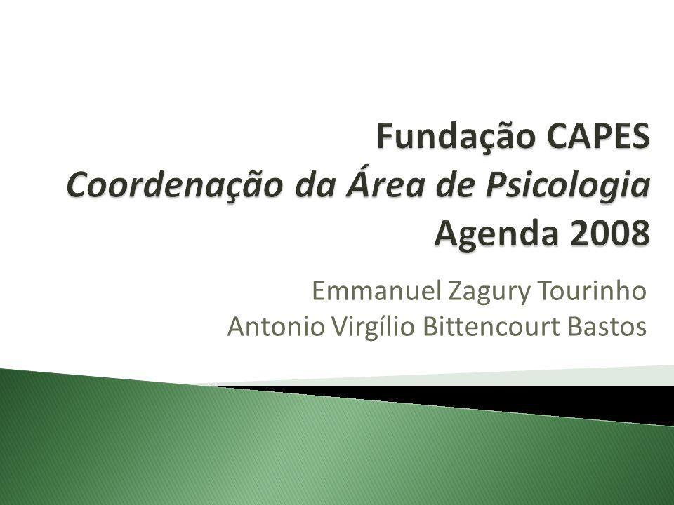 Proposta de Seminário: Tema: Horizontes da Pós-Graduação em Psicologia no Brasil.