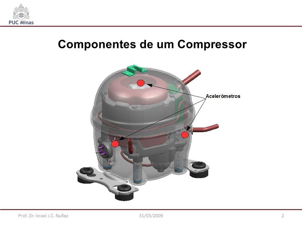 Prof. Dr. Israel J.C. Nuñez31/03/20092 Componentes de um Compressor