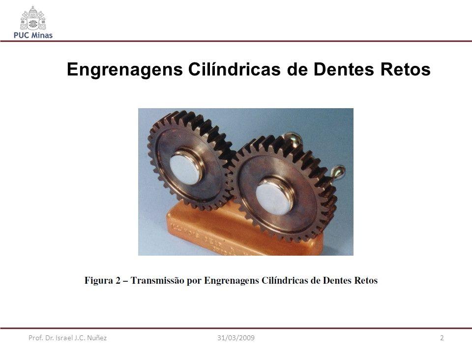 Prof. Dr. Israel J.C. Nuñez31/03/200913