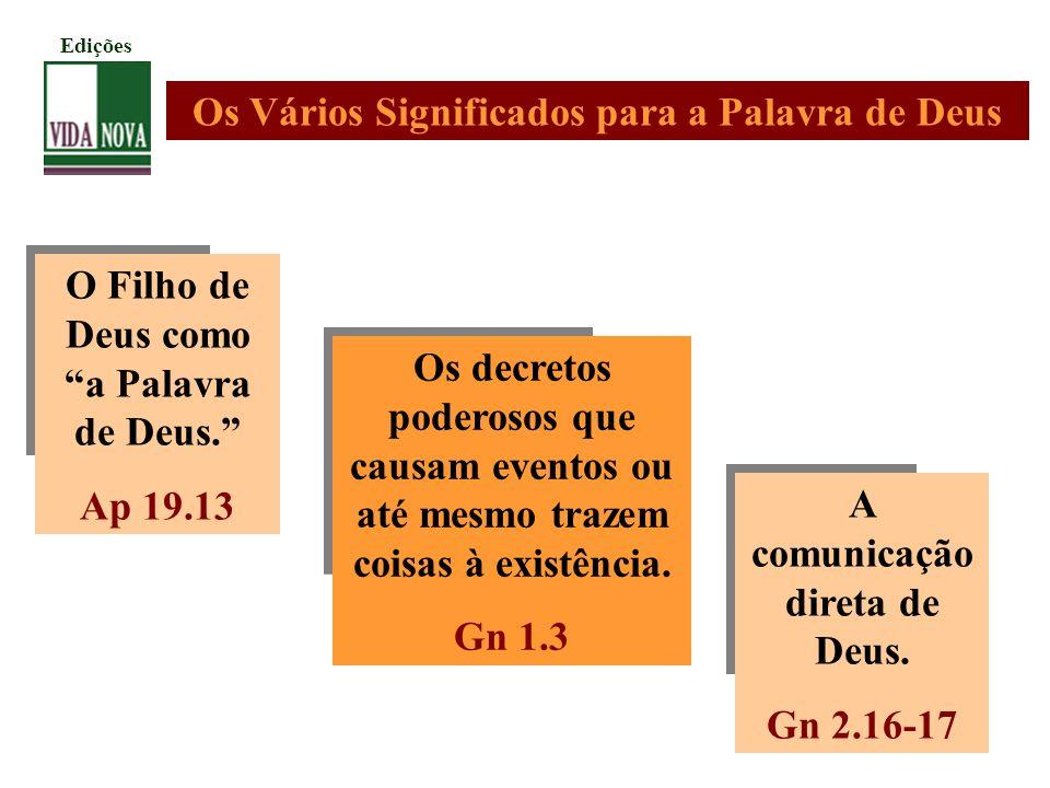 Início do processo Os registros dos apóstolos.