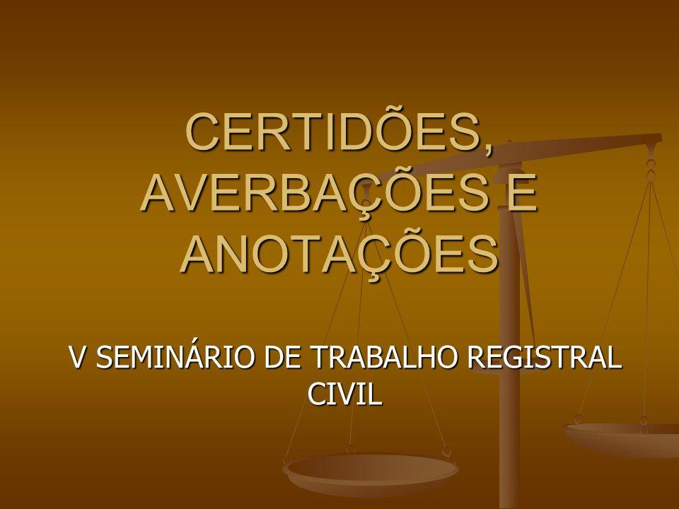 CERTIDÕES PRINCÍPIO DA INVIOLABILIDADE DA VIDA PRIVADA (ART.