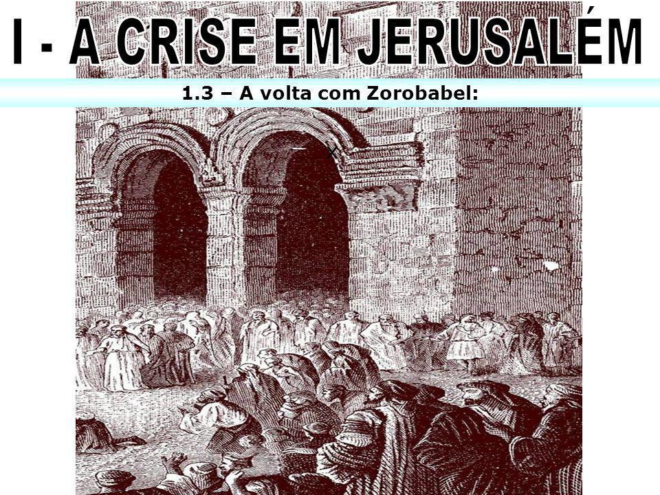 1 – Em que ano o reino do Sul foi levado cativo à Babilônia.