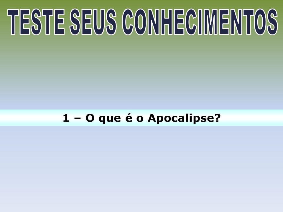 2.1 – Autoria: O autor do Apocalipse é plenamente identificável nos textos de 1.1,4,9; 22.8.