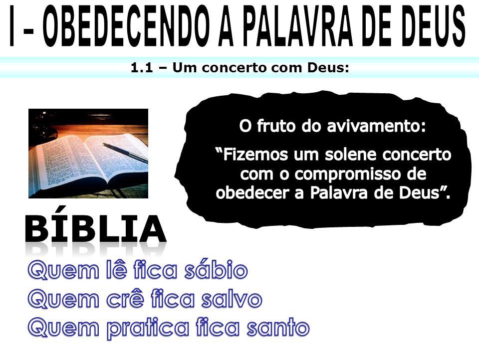 1.1 – Um concerto com Deus: