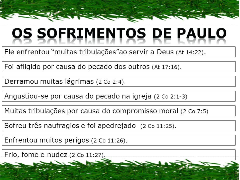 I N T R O D U Ç Ã O Querer é poder! É mesmo? Paulo escreveu assim: Posso tudo – quando as coisas vão bem… Naquele que me fortalece – quando as coisas