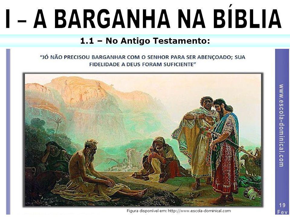 1.1 – No Antigo Testamento: Figura disponível em: http://www.escola-dominical.com