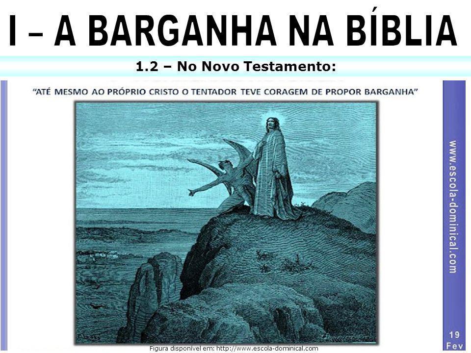 1.2 – No Novo Testamento: Figura disponível em: http://www.escola-dominical.com