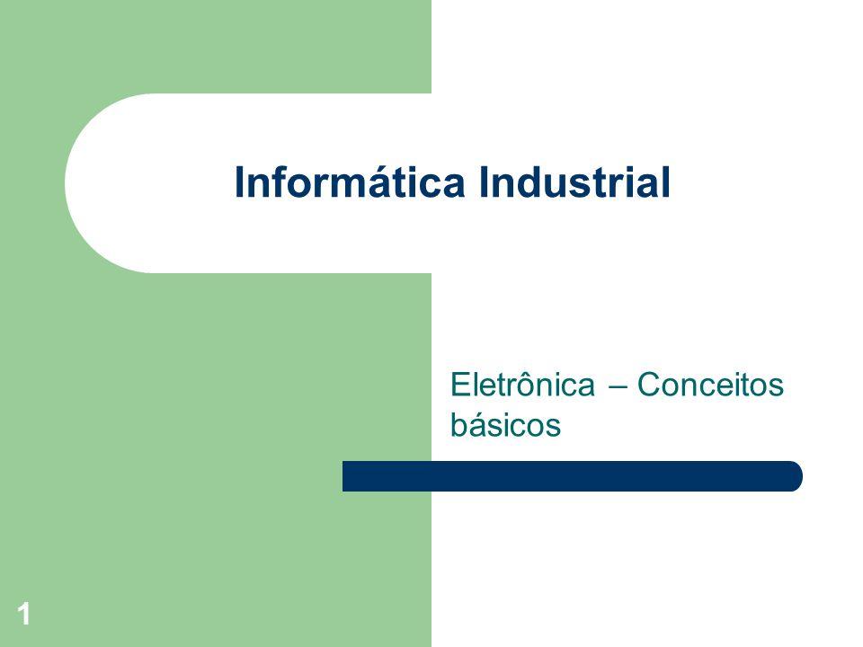 1 Informática Industrial Eletrônica – Conceitos básicos